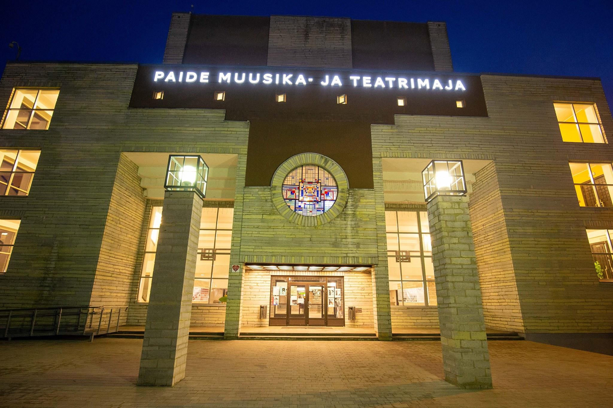 konverentsid Paide muusika- ja teatrimajas